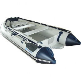 Надувная 3-х местная ПВХ лодка KingFish HDS-320AL